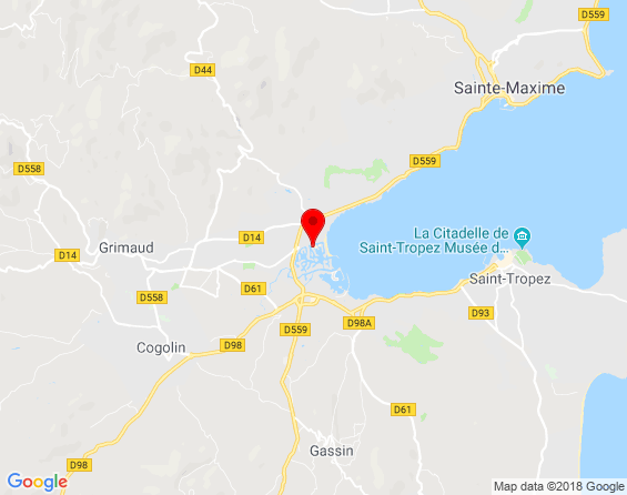 Google Map of Don Peppe Port Grimaud